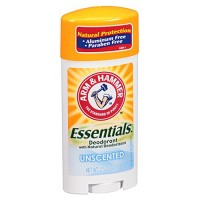 Arm and Hammer Essentials Natural Deodorant, Unscented - 2.5 Oz