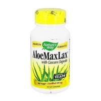 Natures Way Aloe MaxLax with Cascara Sagrada Capsules - 100 Ea