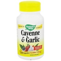 Natures Way Cayenne And Garlic 530 mg Capsules - 100 Ea