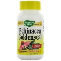 Natures Way Echinacea with GoldenSeal Root 450mg Capsules - 100 ea