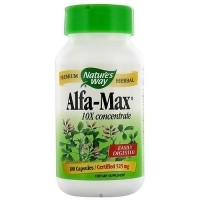 Natures Way Alfa-Max 525 mg Capsules Easily Digested - 100 Ea