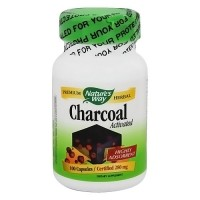 Natures Way Premium Herbal Activated Charcoal Capsules - 100 ea