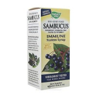 Natures Way Sambucus Elderberry Immune Syrup For Adults - 4 oz