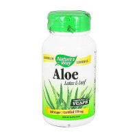 Natures Way Aloe Vera Latex and Leaf Capsules - 100 Ea