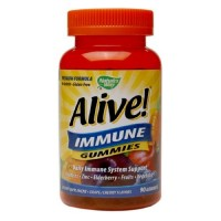 Nature's way alive immune gummies  -  90 ea