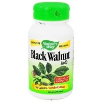 Natures Way Black Walnut Hulls Capsules For Astringent Properties - 100 ea