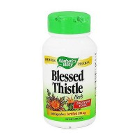 Natures Way Blessed Thistle Herb Digestive Tonic Capsules - 100 Ea