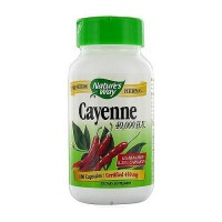 Natures Way Cayenne Pepper 450 mg Capsules - 100 Ea