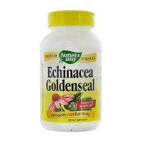 Natures Way Echinacea with GoldenSeal Root 450mg Capsules - 180 ea