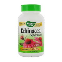 Natures Way Echinacea Purpurea Herb 400 mg Capsules For Immune Support - 180 Ea.
