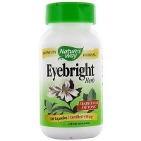 Natures Way Eyebright Herb Capsules - 100 ea