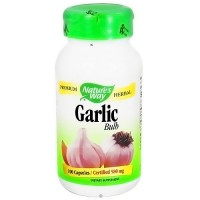 Natures Way Garlic Bulb 580 mg Capsules - 100 ea
