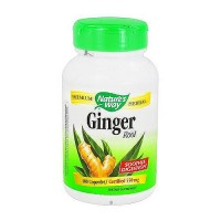 Natures Way Ginger Root 550 mg Capsules - 100 ea