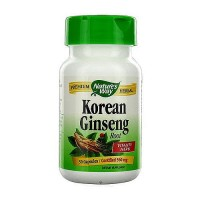 Natures Way Korean Ginseng Root Vitality Herb Capsules - 50 ea