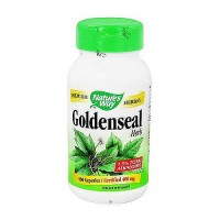 Natures Way Goldenseal Herb 400 mg Capsules - 100 ea