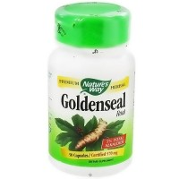 Natures Way Goldenseal Root 570 mg Capsules - 50 ea