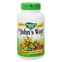 Natures Way St Johns Wort Premium Herbal 350 mg Capsules - 180 ea