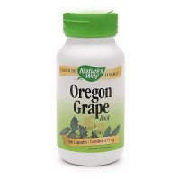 Natures Way Oregon Grape Root 475 mg. Capsules - 100 ea