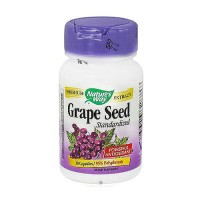 Natures Way Grape Seed Standardized Vegetarian Capsules - 30 ea