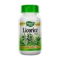 Natures Way Licorice Root Capsules - 100 ea