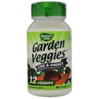 Natures way garden veggies vegetarian capsules - 60 ea