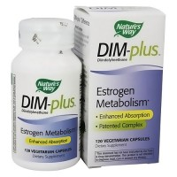 Natures Way DIM-Plus Estrogen Metabolism Formula Capsules - 120 Ea