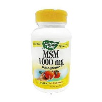 Natures Way MSM 1000 mg Pure OptiMSM Tablets - 120 ea