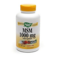 Natures Way MSM 1000 mg Tablets, Pure OptiMSM - 200 ea
