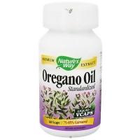 Natures Way Oregano Oil Standardized Liquid Vegetarian Capsules, 60 ea