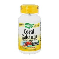 Coral Calcium With 73 Trace Minerals Vegetarian Capsules By Naturesway - 90 Ea