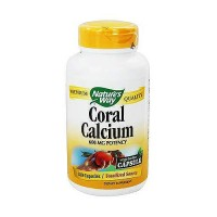 Naturesway Coral Calcium With 73 Trace Minerals Vegetarian Capsules - 180 Ea