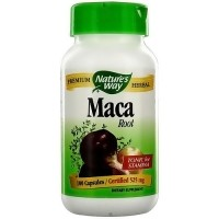 Natures Way Premium Herbal Maca Root Capsules - 100 ea