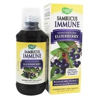 Natures Way Sambucus Immune Syrup For Adults - 8 oz