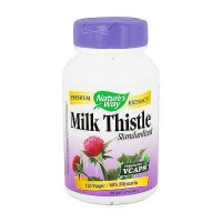 Natures Way Standardized Milk Thistle Vegetarian Capsules - 120 ea