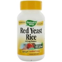 Natures Way Red Yeast Rice Vegetarian Capsules - 60 ea