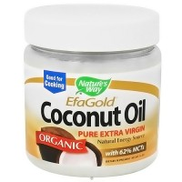 Natures Way EfaGold Coconut Oil Pure Extra Virgin - 16 Oz