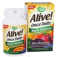 Natures Way Alive Ultra Potency Once Daily Multi-Vitamin Tablets - 60 Ea
