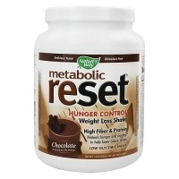 Natures Way Metabolic Reset Weight Loss Shake Mix Powder, Chocolate - 1.4 lb