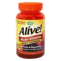 Natures Way Alive B-complex, Vitamins C And D Adult Multivitamin Gummies - 90 Ea