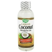 Natures Way Liquid Coconut Premium Oil, Superior Flavor - 10 oz