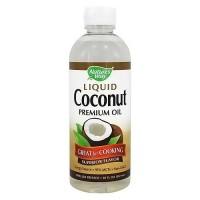 Natures Way Liquid Coconut Premium Oil, Superior Flavor - 20 oz