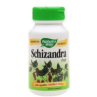 Natures Way Schizandra Fruit 580 mg capsules - 100 ea