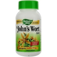 Natures Way Premium Herbal St Johns Wort Herb 350 mg Capsules - 100 ea