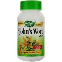 Natures Way Premium Herbal St Johns Wort Herb 350 mg Capsules - 100 ea
