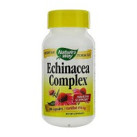 Natures Way Echinacea Root Complex 450mg Capsules - 100 ea