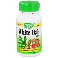 Natures Way White Oak Bark 480 mg Herbal Capsules - 100 ea