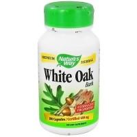 Natures Way White Oak Bark 480 mg Herbal Capsules - 100 ea