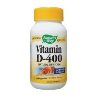Natures Way Vitamin D 400 Iu Natural Dry Form Capsules - 100 Ea