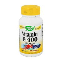 Vitamin e-400 iu softgels with d-alpha tocopherols by natures way - 100 Ea