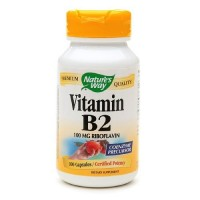Natures way vitamin b2 capsules - 100 ea